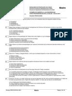 Examen Residencia Provincia 2013