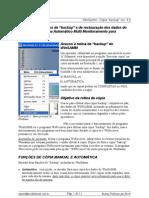"""Instruções de """"Backup"""" do pograma  WinSamm - Português-Br Rev41"""