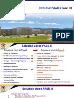 Estudios Viales Fase III.