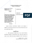 Federal Lawsuit Filed by Michelle MacDonald - March 19, 2015