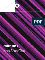 Manual Para Soundtrax AUDIO y MEZCLAS