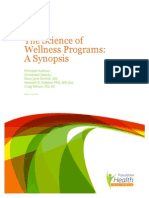 The Science of Wellness Programs