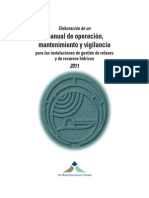 DevelopinganOMSManualforTailingsandWaterManagementFacilities2011 Spanish