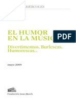 Humor en La Musica Fundacion March Cc629