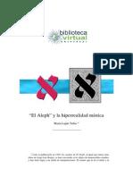 """Luján, M. """"El Aleph"""" y la hiperrealidad mística"""