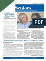 2015SSafe Seniors Newsletter for the Prevention of Elder Abuse and Consumer Fraud