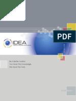 IDEA v9 Case Study