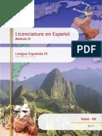 Fasciculo de Lingua Espanhola IV