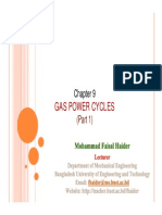 Gas Cycles - Part I