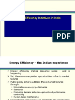 Energy Efficiency Initiatives in India