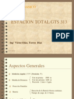 Uso Estacion Gts-313