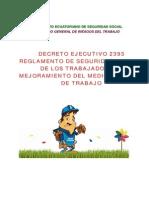 Decreto-ejecutivo2393 Reg Seguridad y Salud de Trabajadores