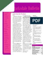 April 2015 BOSC Newsletter