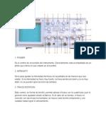Controles del osciloscopio