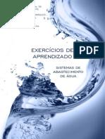 EXERCÍCIOS DE APRENDIZADO - SISTEMAS DE ABASTECIMENTO DE ÁGUA