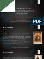 Fracturas Abiertas Gustilo y Anderson