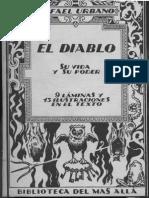 Urbano, Rafael - El Diablo. Su Vida y Su Poder