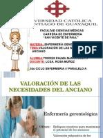 Valoracion de Necesidades Del Anciano-Enfermeria General