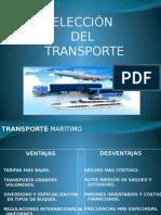 Eleccion Del Transporte