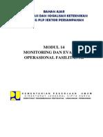 8. Modul 14 Monitoring Dan Evaluasi Operasional Fasilitas 3R
