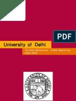 Delhi University  Millennium Handbook, 2009