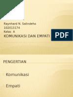 PPT Komunikasi Dan Empati - Reinhard