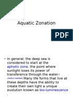 Aquatic Zonation