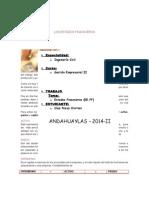 Los Estados Financieros Cristian Diaz Pezua