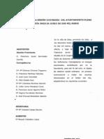 Acta de Pleno Odinario 11 de Junio09