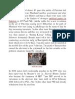 Political Development from 2007 onwards