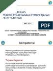 4.2.1 Panduan Tugas Praktik Pembelajaran Melalui Peer Teachi
