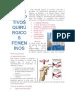 metodos quirurgicos