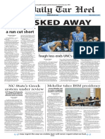The Daily Tar Heel for Mar. 27, 2015