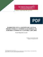 2009 Marketing en La Gestion de Las Pyme...Gamarra