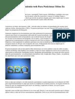Software posicionamiento web Para Posicionar Sitios En Motores De Busca