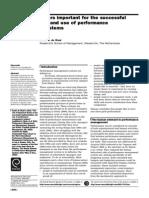 3.2. de Waal 2003 Behavior Factors Important for Successful -Libre