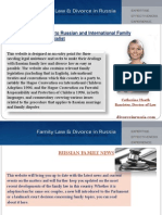 Russian and International Family Law