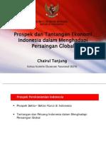 Prospek dan Tantangan Ekonomi Indonesia dalam Menghadapi Persaingan Globalekdantantanganekonomiindonesiakadin-120901002959-phpapp02