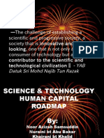 S& T Human Capital Roadmap