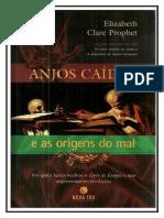 Anjos Caidos e as Origens Do Mal Elizabeth Clare Prophet