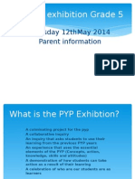 Exhibition information for parents 2015.pptx