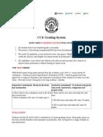 CCE Grading System