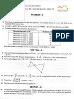 10th Mathematics Sa-1 Sample Paper -2