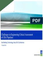 DNV Engineering Critical Assessement
