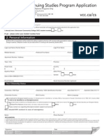 Cs Program Application Fillinpdf Form