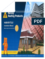 Harveytile Installation Manual
