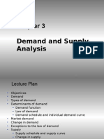 3 Demand and Supply Analysis