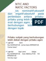 Ppt Semantic and Pragmatic Factors