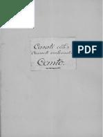 Concerti ecclesiastici, 1651 / Teodoro Casati