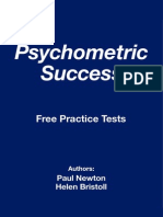 Psychometric Success